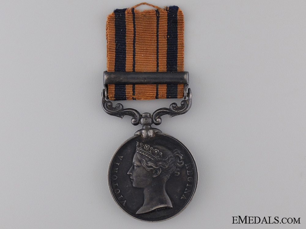 South Africa Medal to th 91st Regiment of Foot