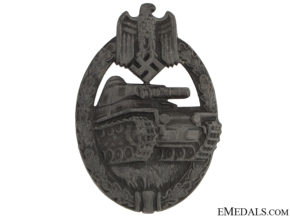 Tank Badge - Marked Willy Annetsberger