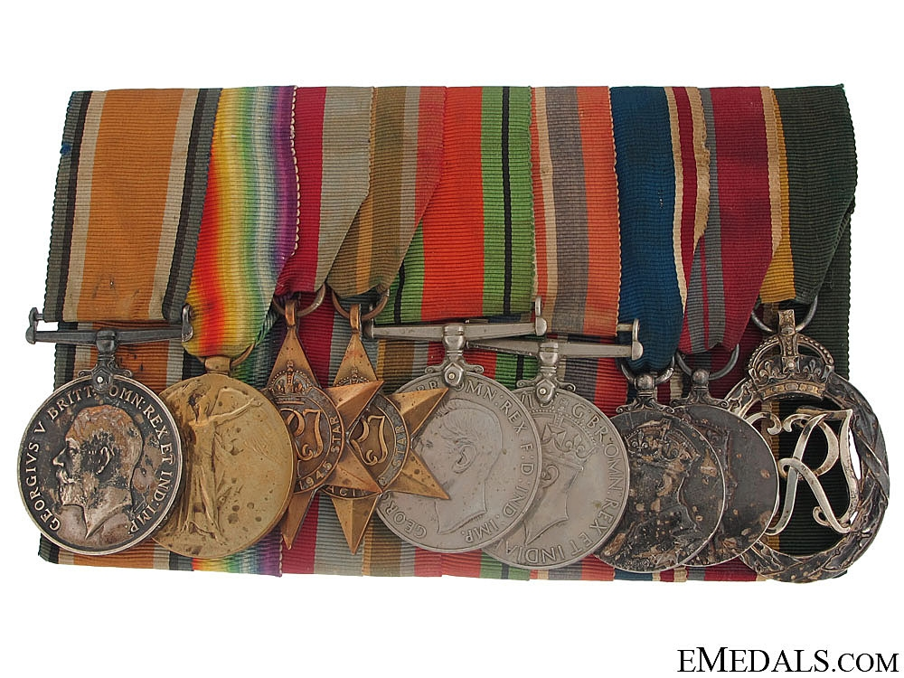 The Awards of Captain Alfred A. Frisby