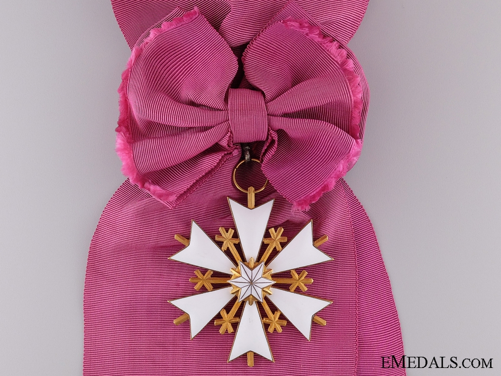 The Estonian Order of the White Star; First Class Badge