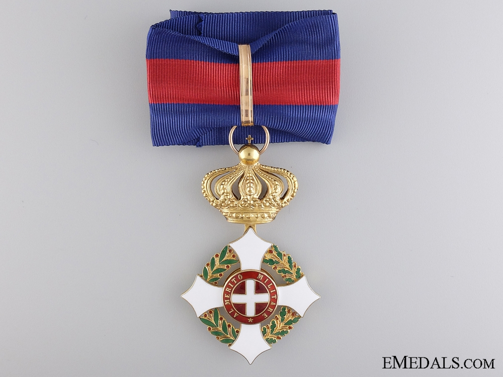 The Military Order of Savoy in Gold; Commander's Neck Cross