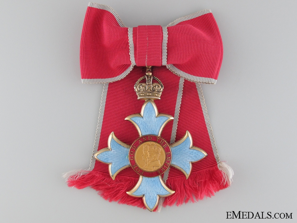 The Most Excellent Order of the British Empire; C.B.E.