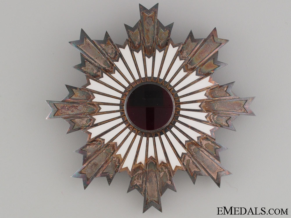 The Order of the Rising Sun - Breast Star