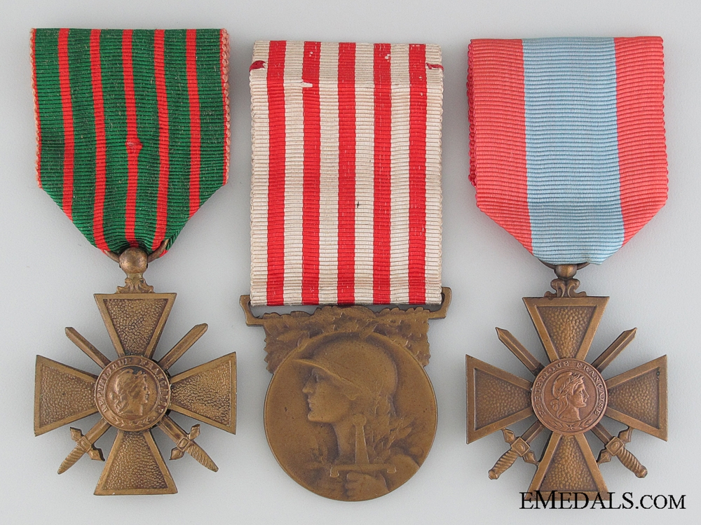 Three French Medals