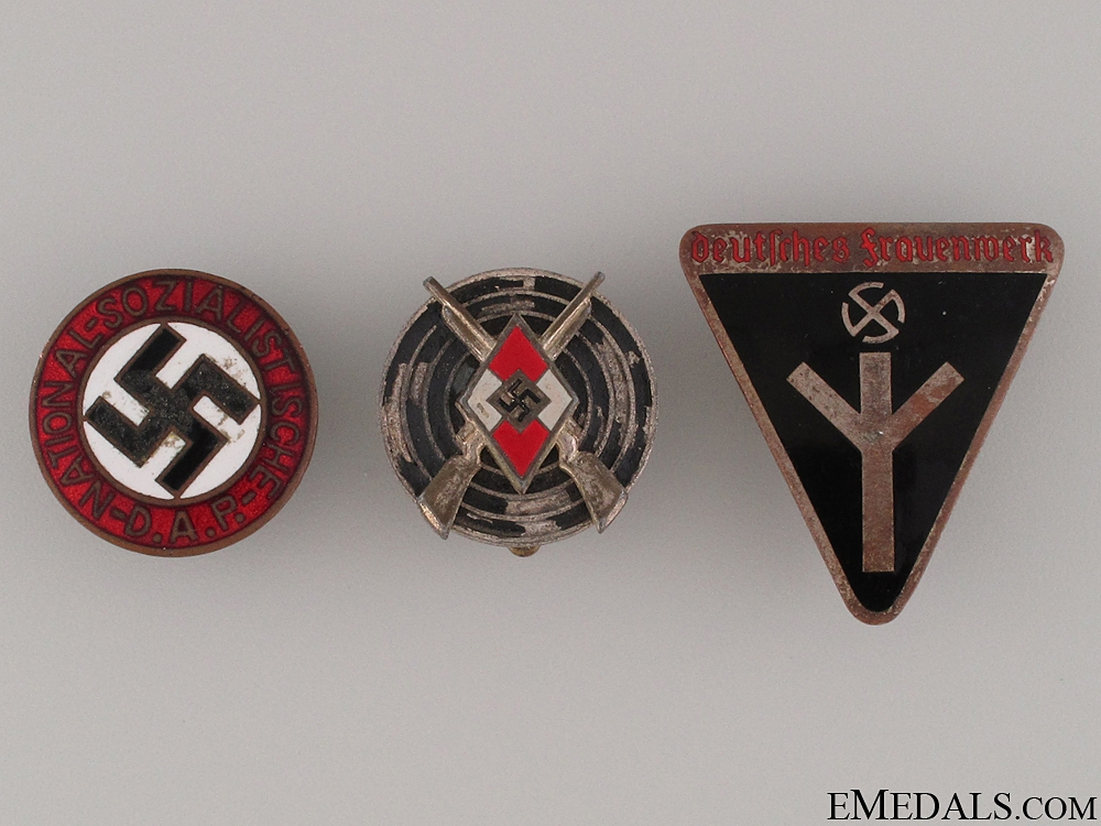Three German Badges