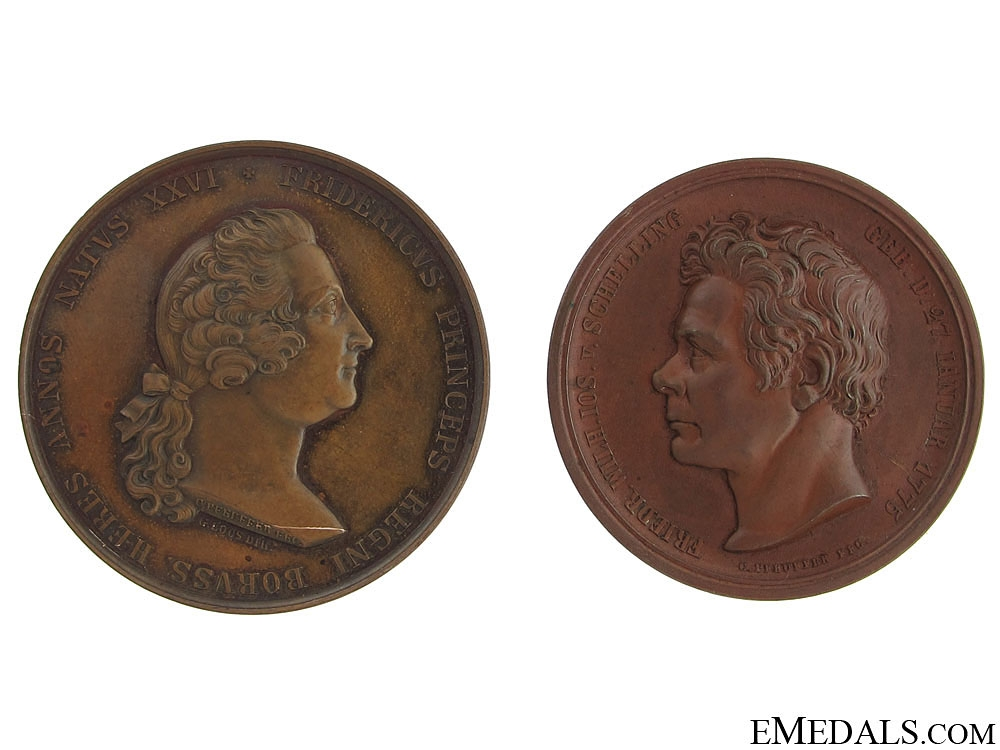 Two Imperial Table Medals