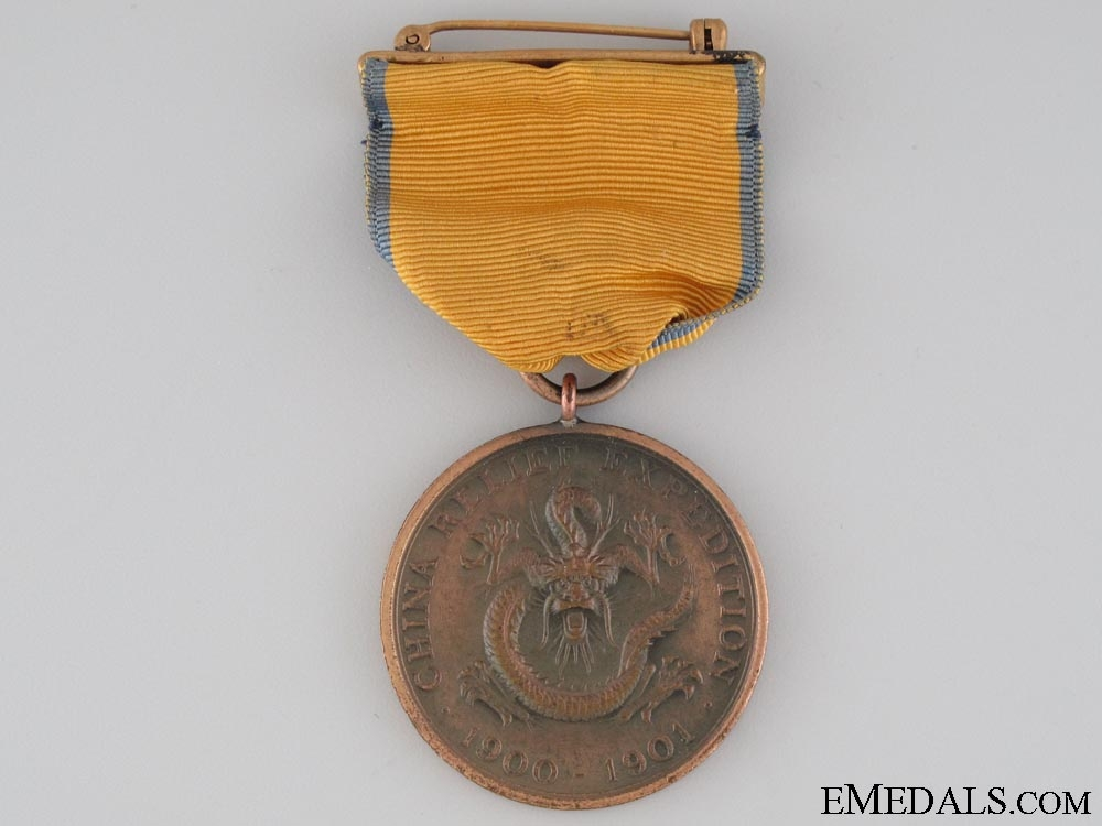 United States. Army China Campaign Medal 1900-1901