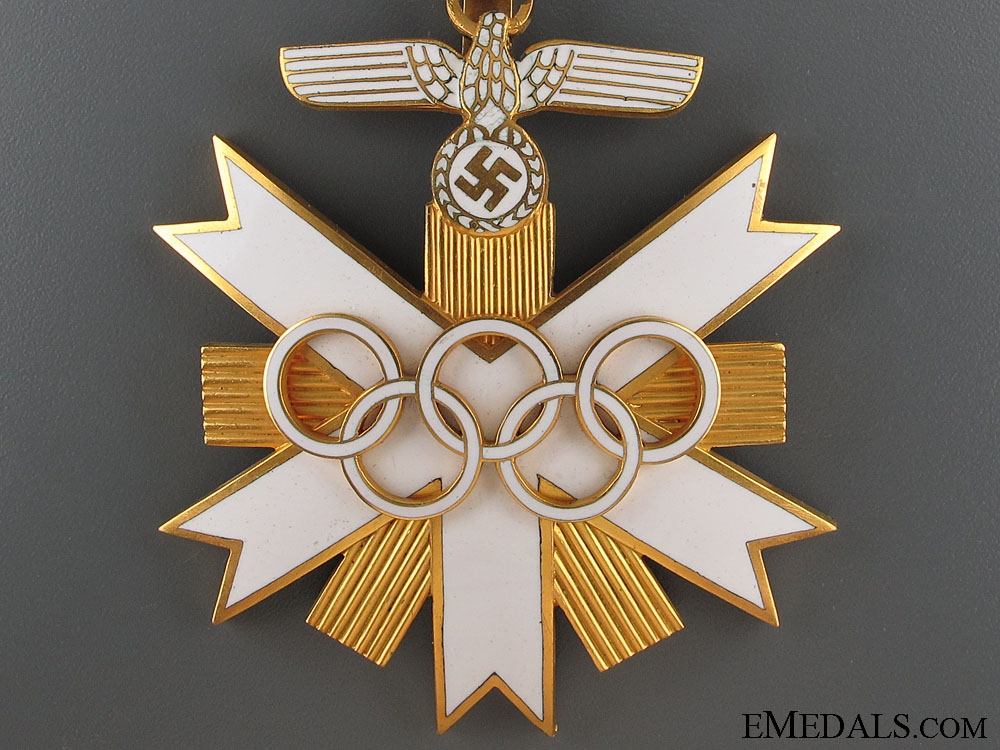 Olympic Games 1936 Decoration - 1st Class  4800