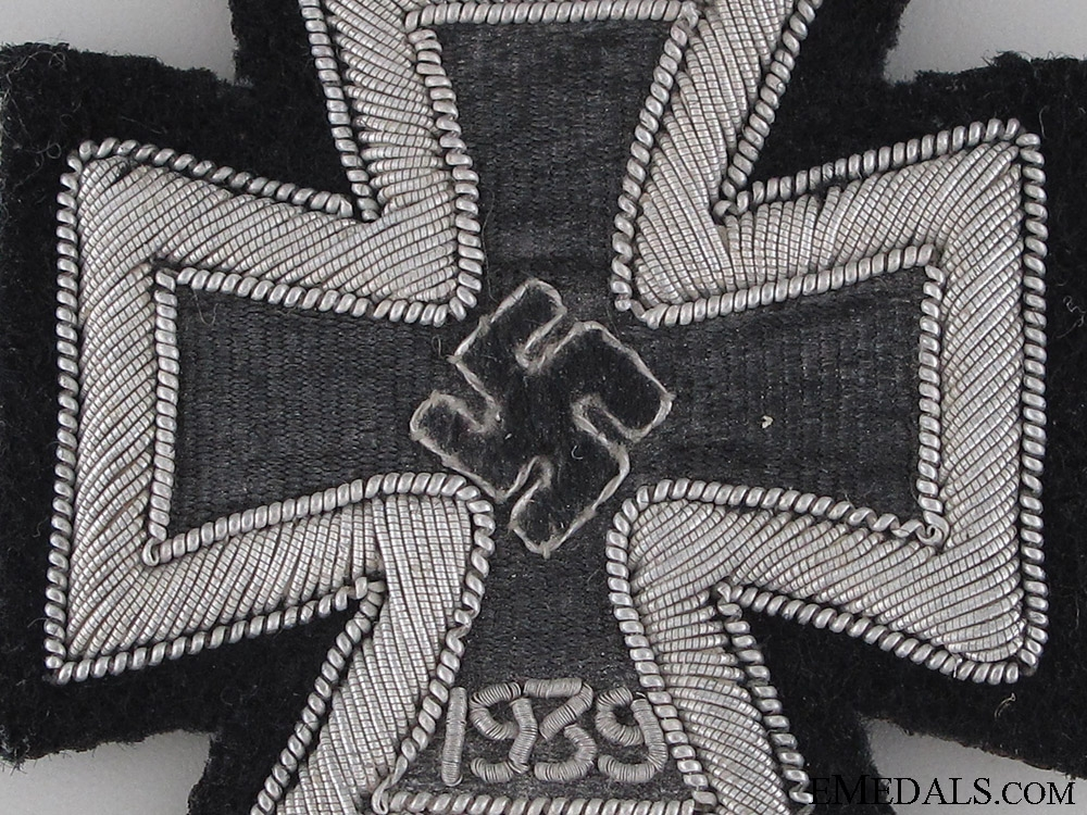 Iron Cross 1939 1st. Cl. – Cloth Version