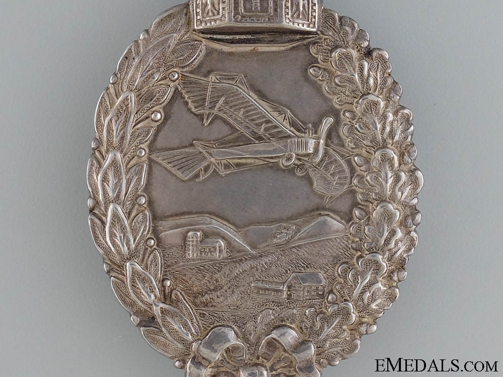 A First War Pilot's Badge in Silver