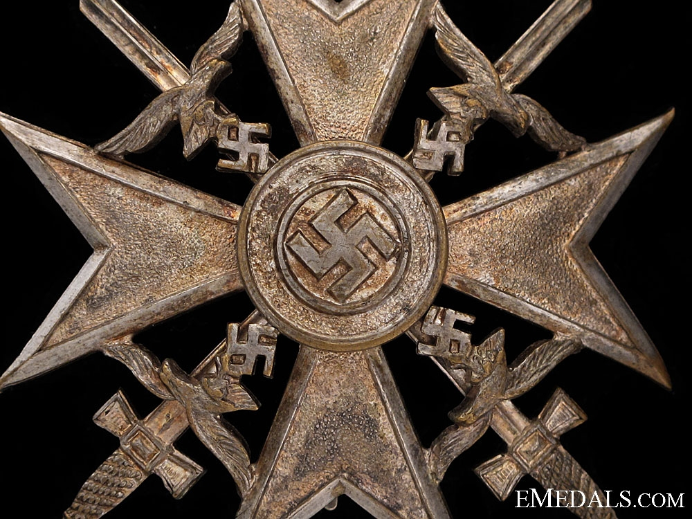 Spanish Cross in Silver by Meybauer
