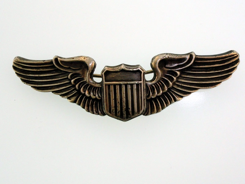 WWII AAF Pilot Wing in Sterling