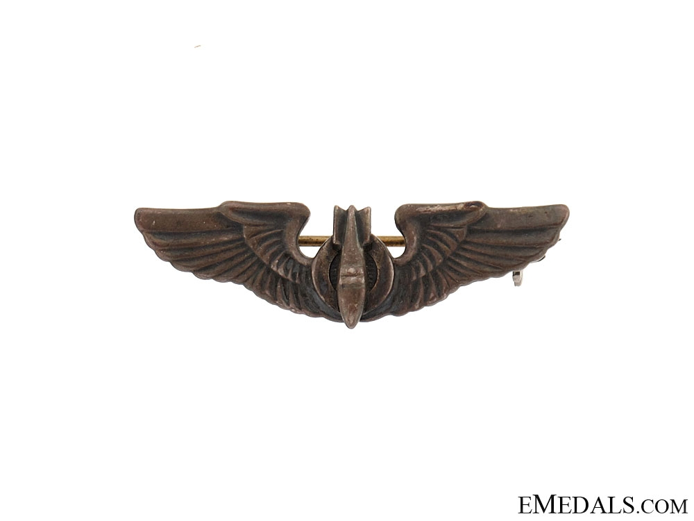 Coin Silver WWII Air Gunner Shirt Size Wing