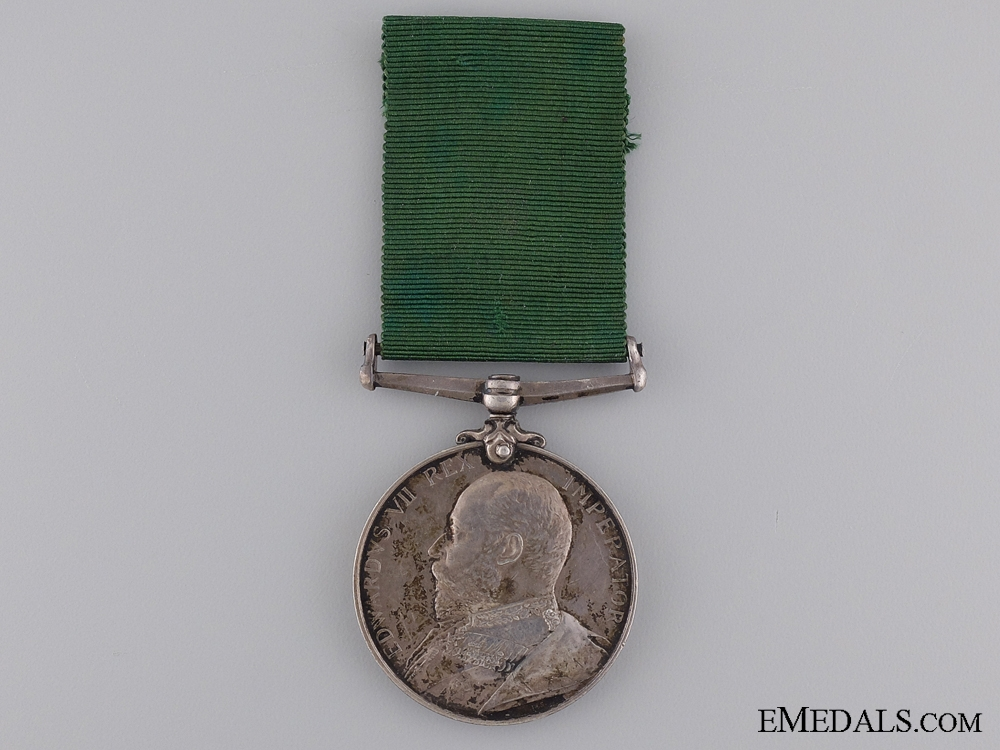 A Volunteer Long Service & Good Conduct Medal to the Lorne Scots