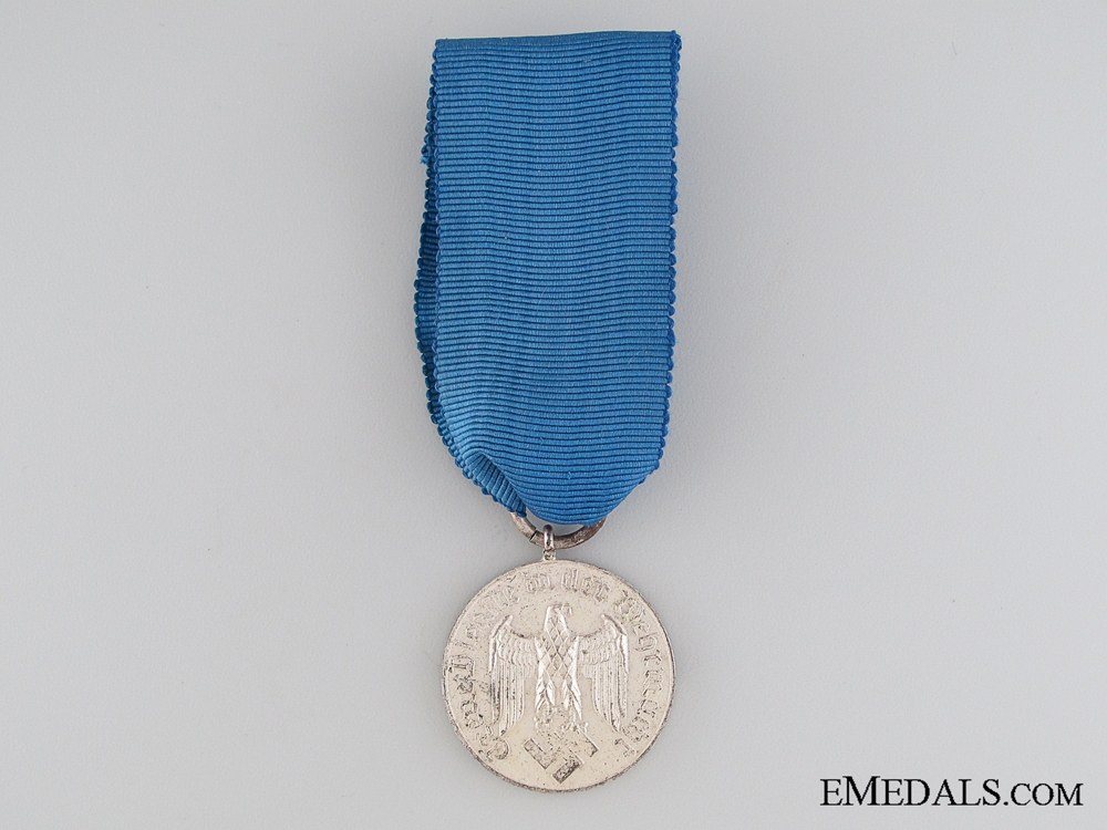 Wehrmacht Long Service Medal; 4th Class for Four Years Service
