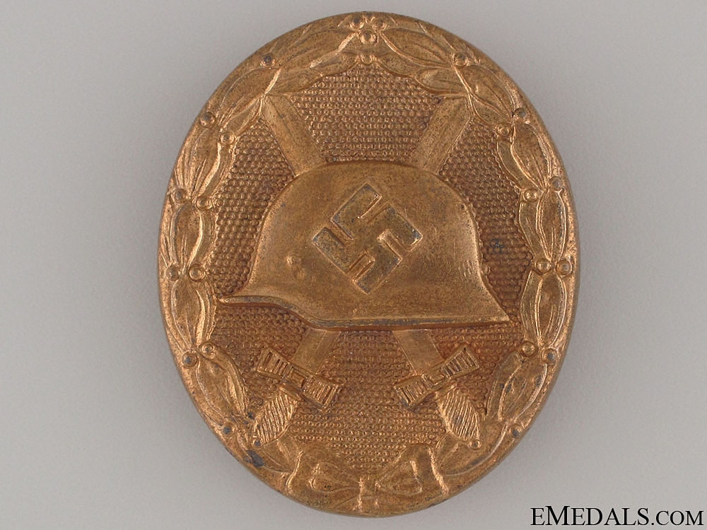 Wound Badge - Gold Grade & Marked