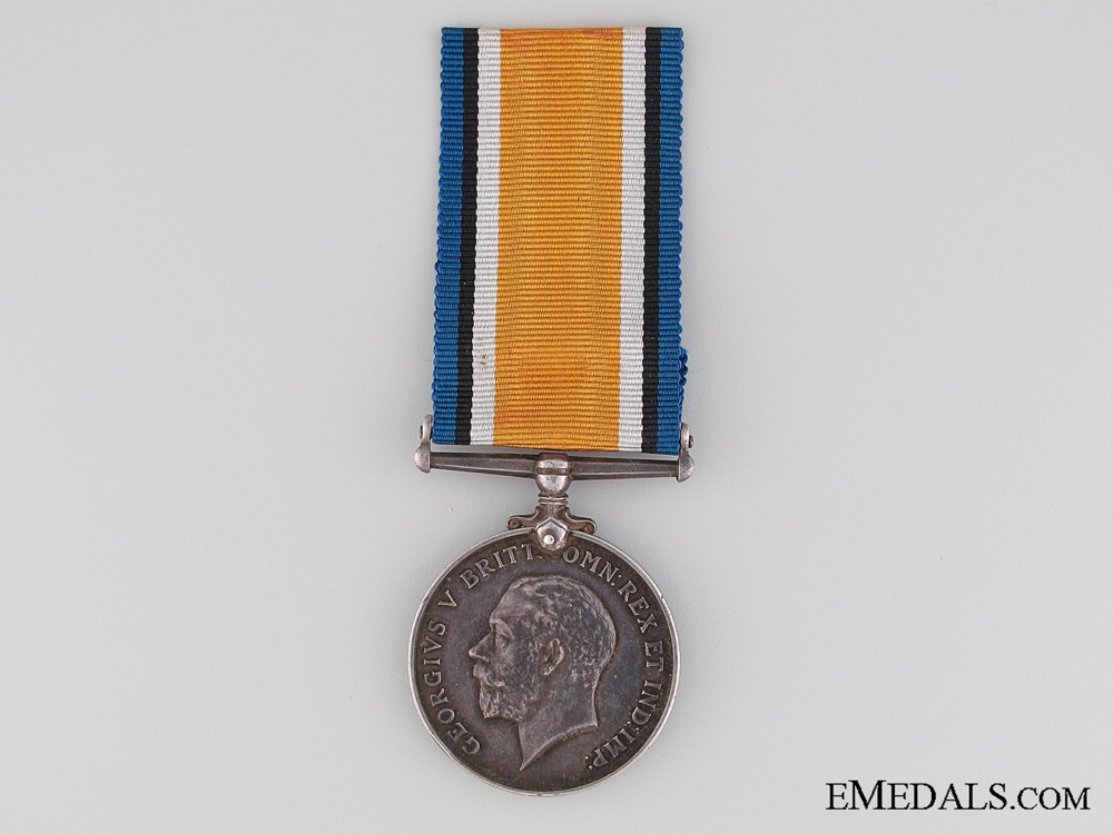 WWI British War Medal to the Royal Navy