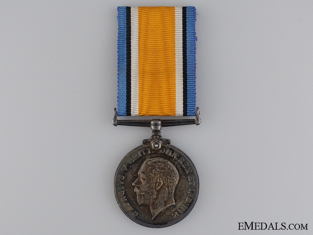 WWI British War Medal to the Royal Montreal Regiment
