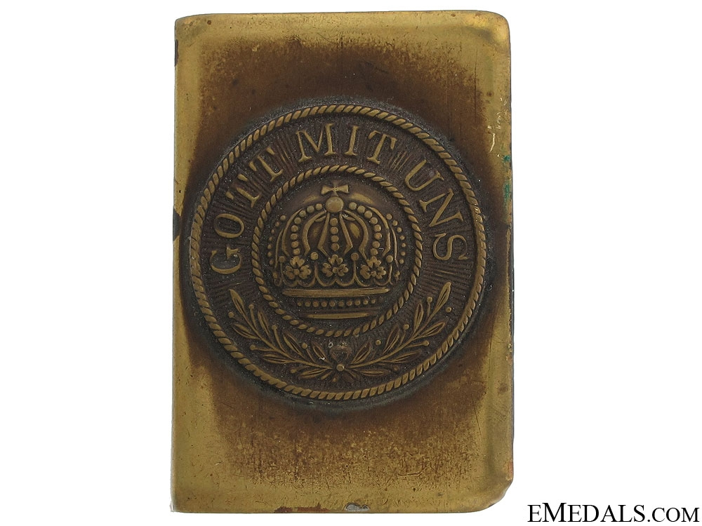 WWI German Imperial Matchbox Cover
