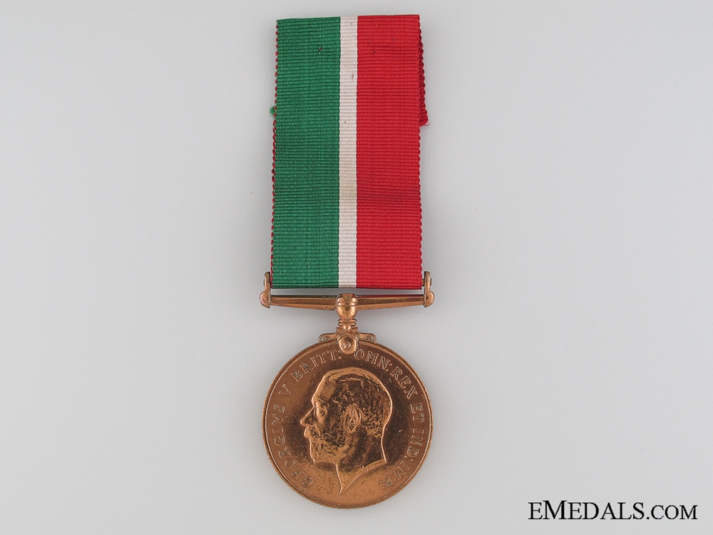 WWI Mercantile Marine War Medal to Chinese