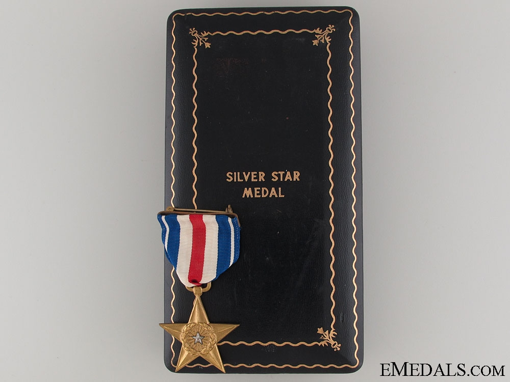 WWII American Silver Star - Numbered & Cased