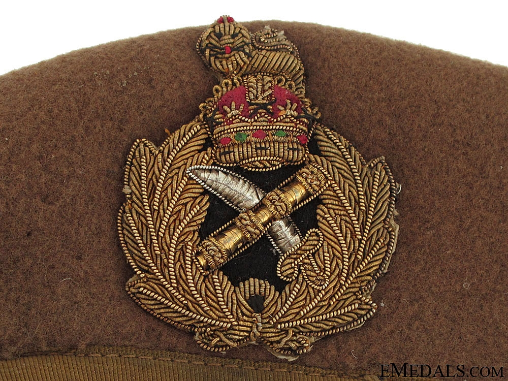WWII Army General's Beret