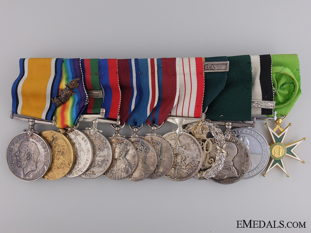 WWII Awards of the Commanding Officer; Lincoln & Welland Regiment  C:17
