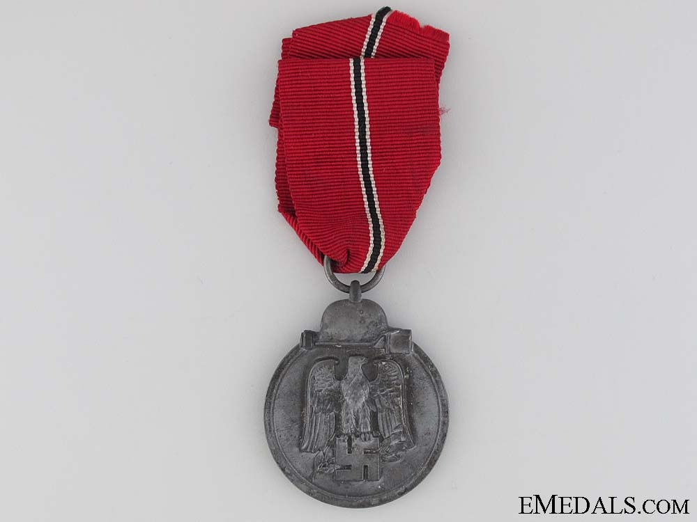 WWII German East Medal 1941/42 - Marked