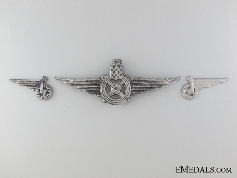 WWII Railway Insignia: Cap Badge and Collar Tabs