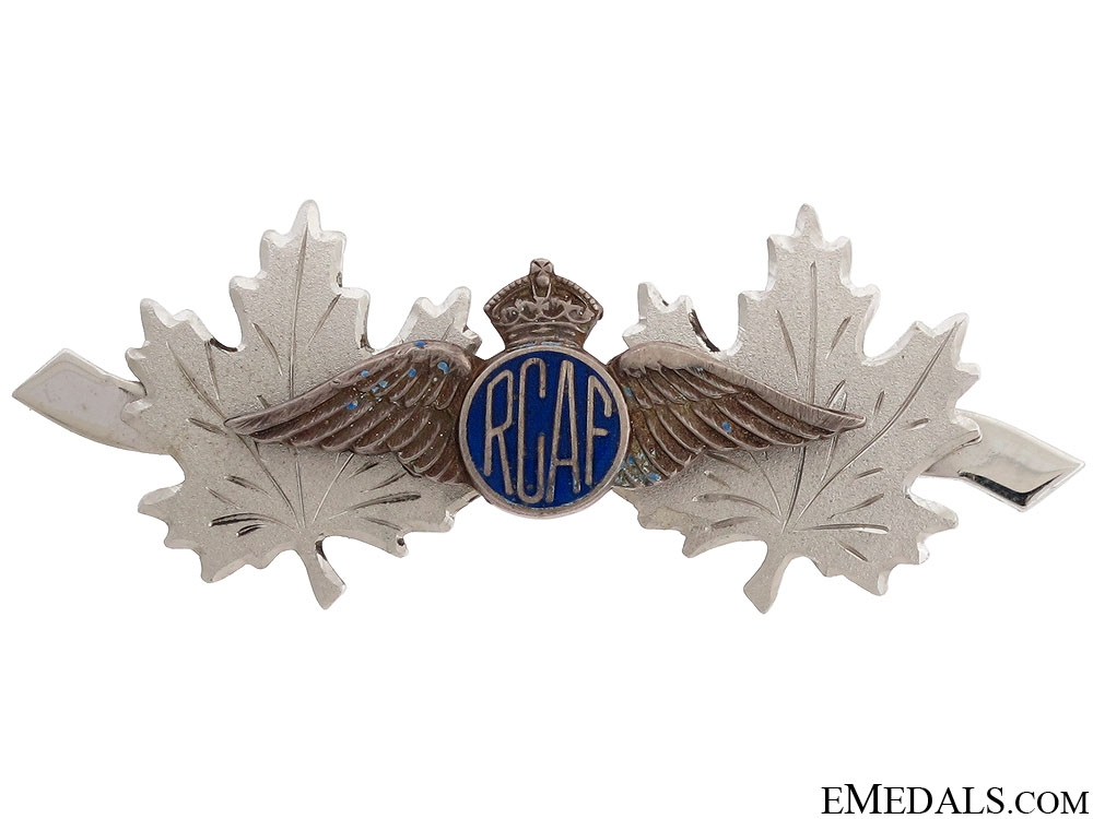 WWII RCAF Patriotic Pin
