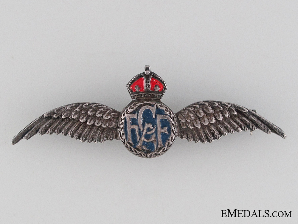 WWII Royal Canadian Air Force (RCAF) Sweetheart Wings