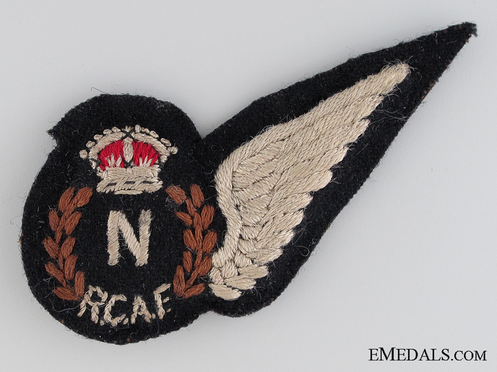 WWII Royal Canadian Air Force Navigator Wing