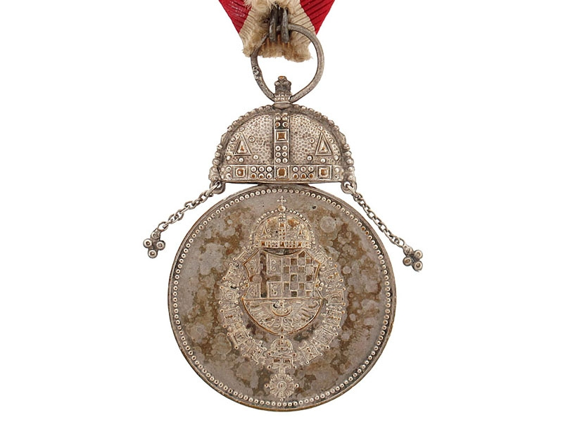 Royal Household Service Medal, with Crown