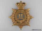 11th Battalion of Infantry Argenteuil Rangers Helmet Plate