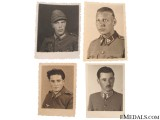 4 Photos of Croatian Soldiers WWII
