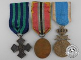 Three Romanian Medal, Awards, & Decorations