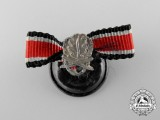 A Rare Miniature Oakleaves with Swords to the Knight's Cross  1939