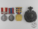 A Canada General Service & North West Medal Pairing to Sergeant William H. Denman