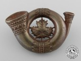 """A First War 259th Battalion """"Siberian Expeditionary Force"""" Cap Badge"""