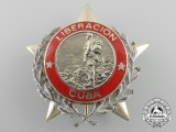 A Scarce Cuban Order of Combat for the Liberation War