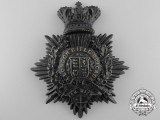A Victorian London Rifle Brigade Helmet Plate