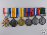 A 1914 Coldstream Guards Medal Group to Regimental Sergt Major
