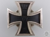 A 1914 Iron Cross First Class; 3rd Reich Production