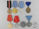 A Lot of 8 European Awards, Decorations & Medals