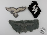 A Group of Recovered German Insignia