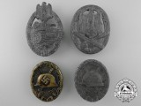 Four Second War German Badges and Awards