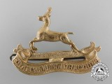 A Rare First War Royal Canadian Dragoons Officer's Cap Badge by Birks