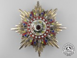 A Chinese Order of the Illustrious Brilliant Golden Grain; Grand Cross Breast Star (1912-1928)