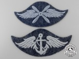 Two Luftwaffe Trade Badges