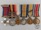 A First War Distinguished Service Order Miniature Group